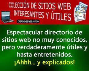SITIOS WEB PRÁCTICOS: