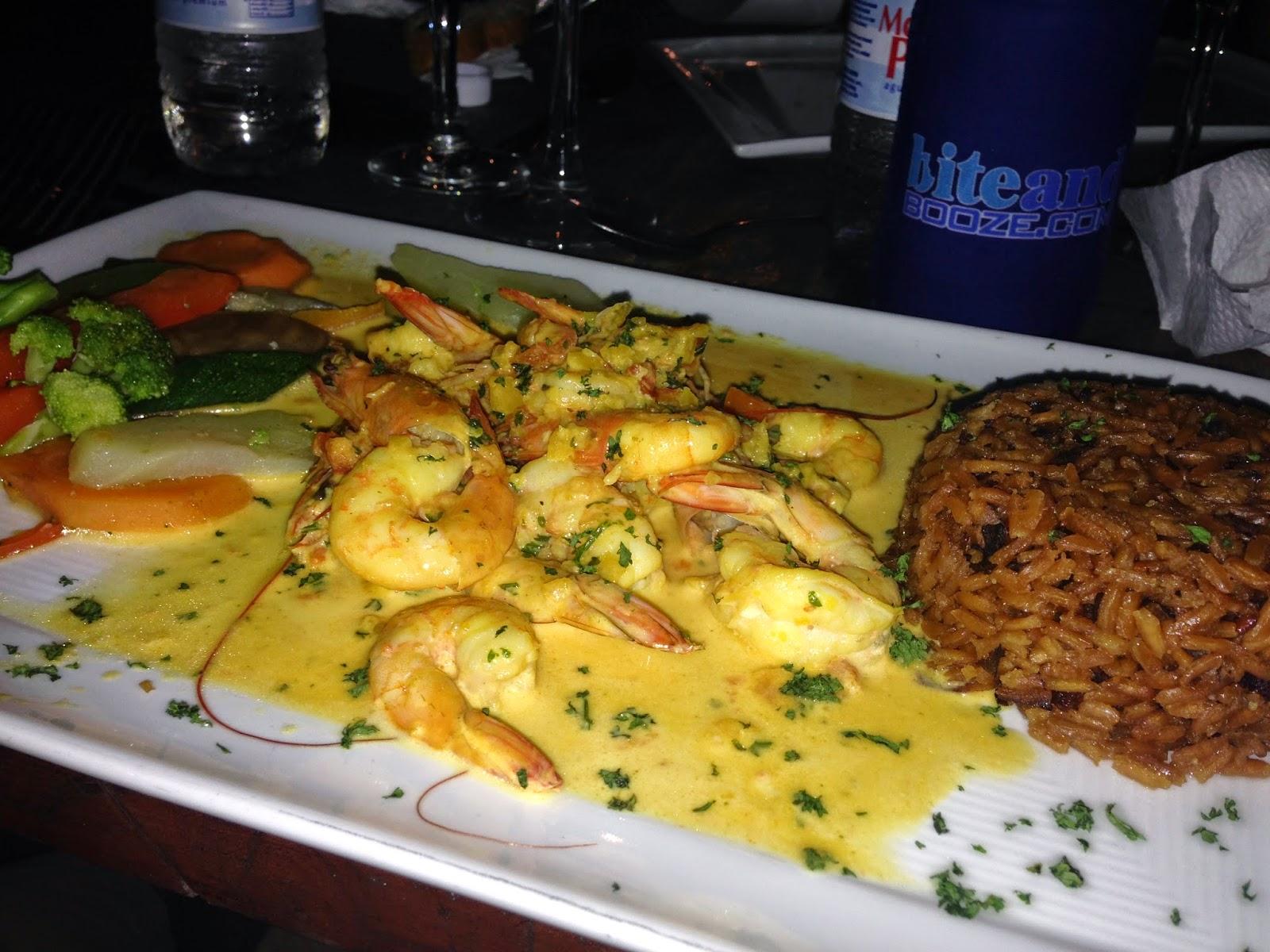 shrimp in curry sauce cabarete