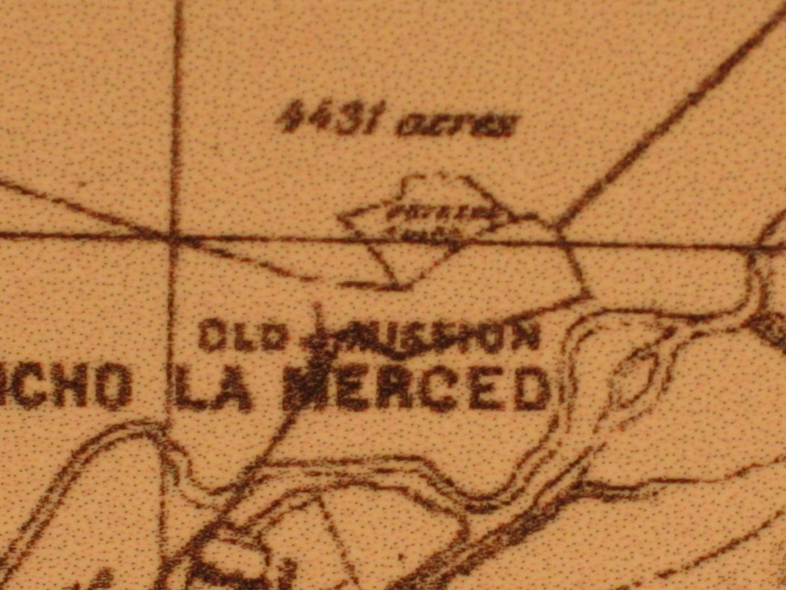 this detail from a very large 1877 map of southern california shows rancho potrero chico in the old mission district with rancho la merced to the south