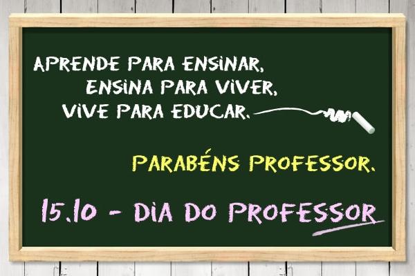 PARABÉNS A TODOS OS PROFESSORES!