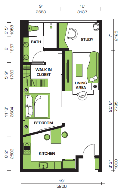 Floor Plan Feng Shui July 2014