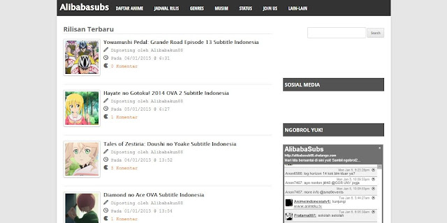 7 Situs Nonton Anime Subtitle Indonesia Terbaik