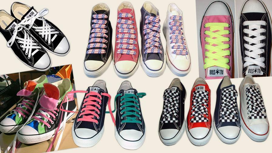 Berikut ini berbagai cara mengikat tali sepatu supaya tampil beda dengan  sepatu yang lainnya. Dalam berbagai mode 56e82b8408
