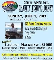 Tahoe's charity fishing derby