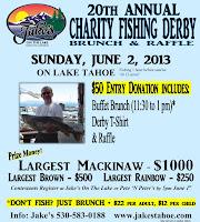 Tahoe's charity fishing derby