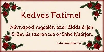 Június 5 - Fatime