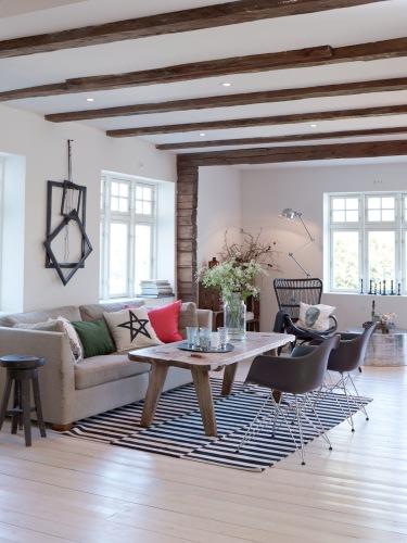 Bordslampa Kok : kok industrikonsla  Vanilladecor najpiekniejszy norweski dom