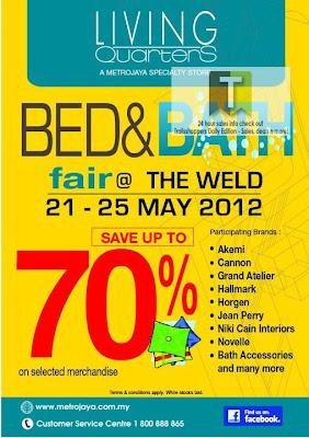Living Quarters Bed & Bath Fair 2012
