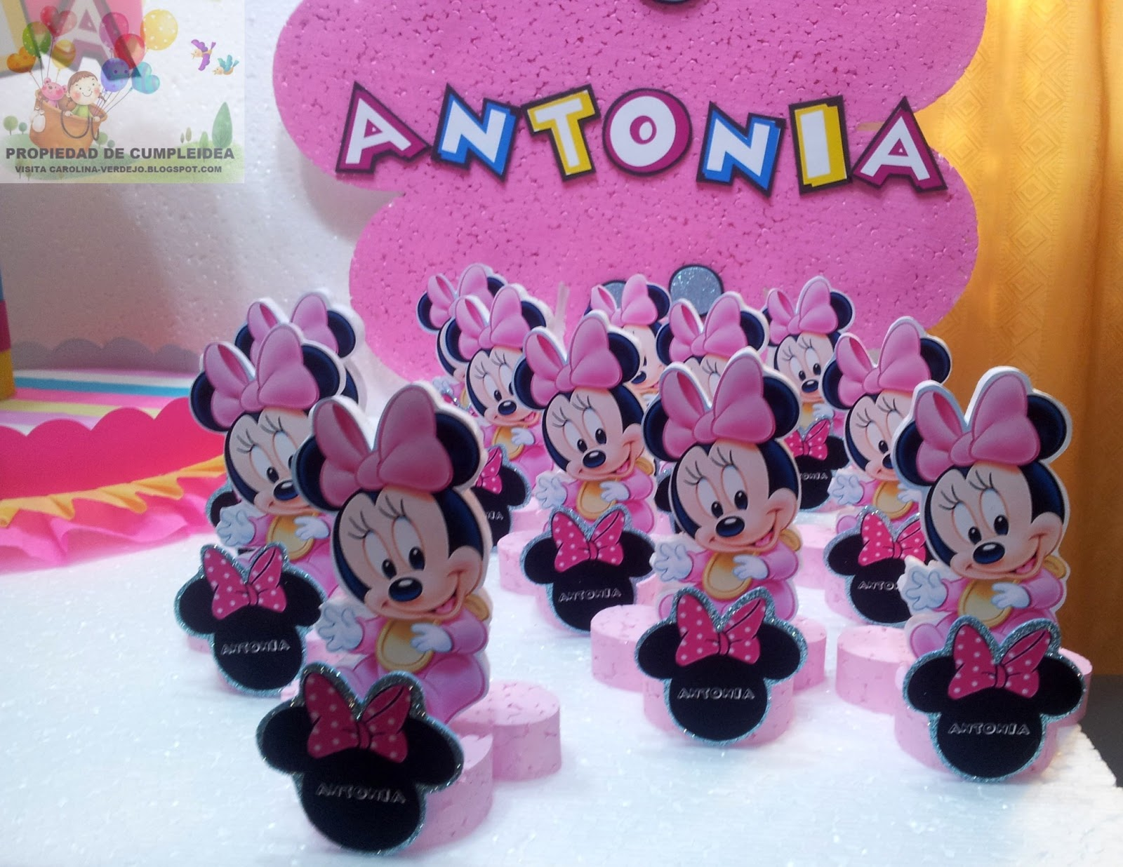 Decoraciones Infantiles Minnie Mouse Baby