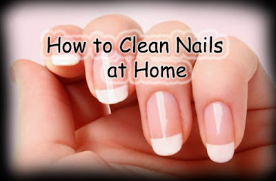 How To Clean Dirty White Nails