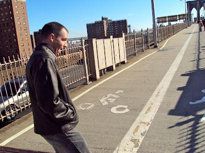 Brooklyn Bridge Bike Lane