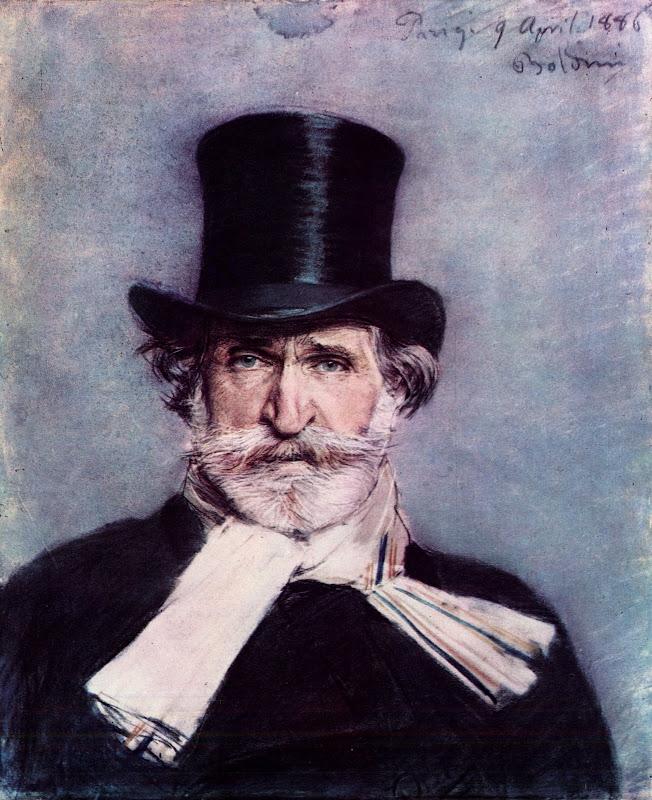 Giovanni Boldini - Giuseppe Verdi