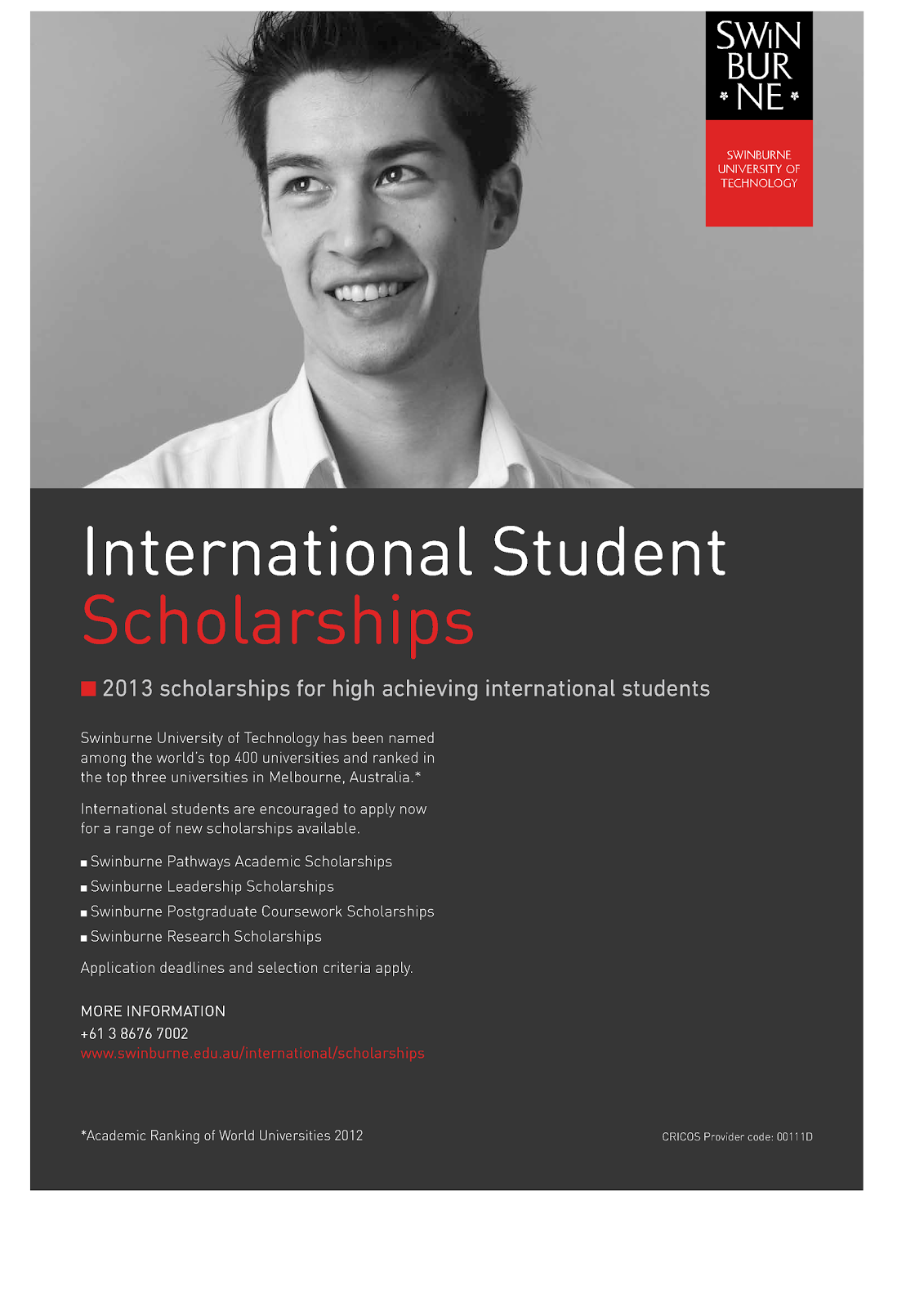 swinburne postgraduate coursework scholarships Postgraduate construction management courses swinburne university of technology deakin scholarships and ielts.