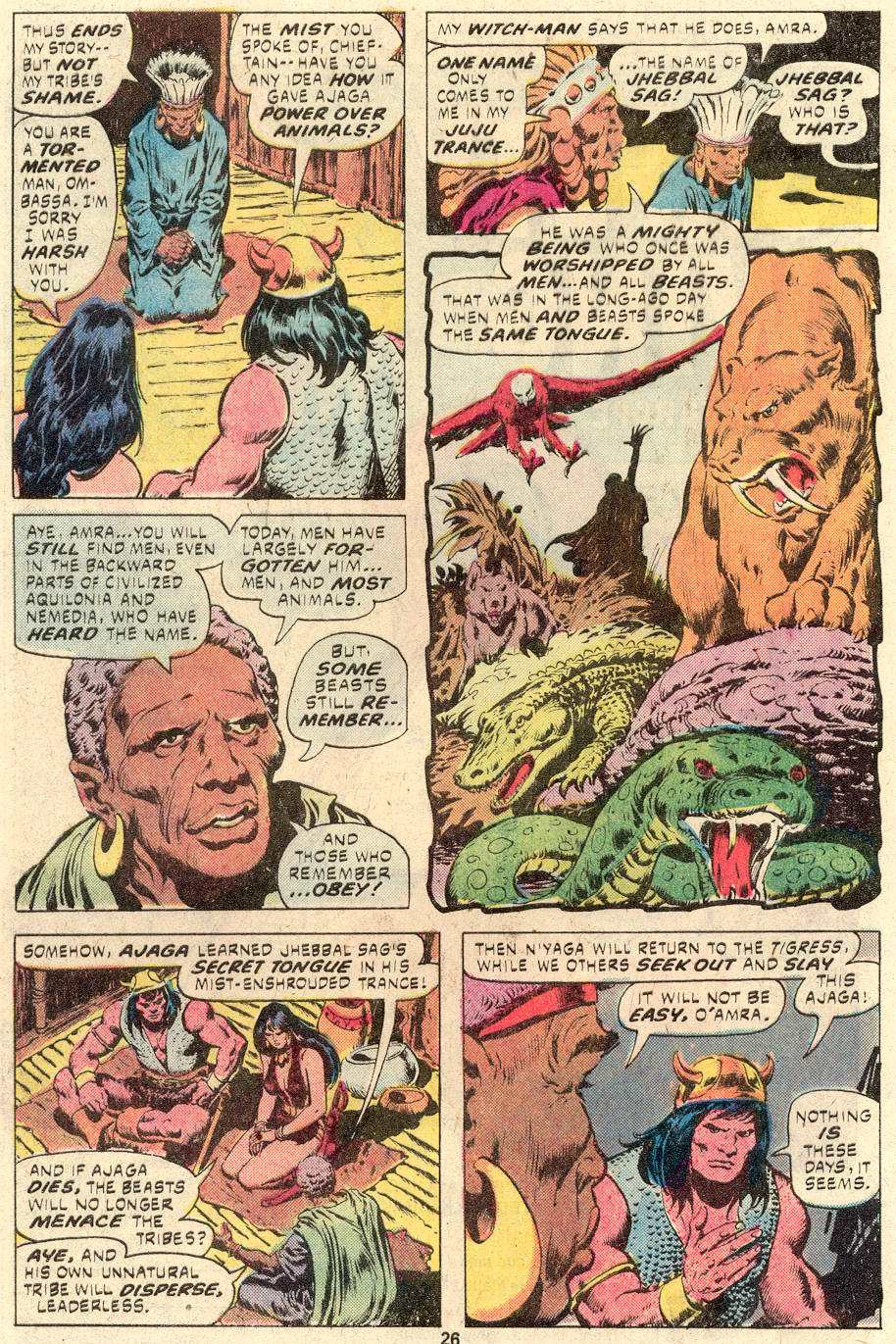 Conan the Barbarian (1970) Issue #94 #106 - English 15