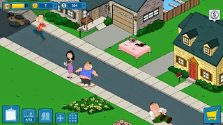 Screenshots of the Family guy: The quest for stuff for Android tablet, phone.