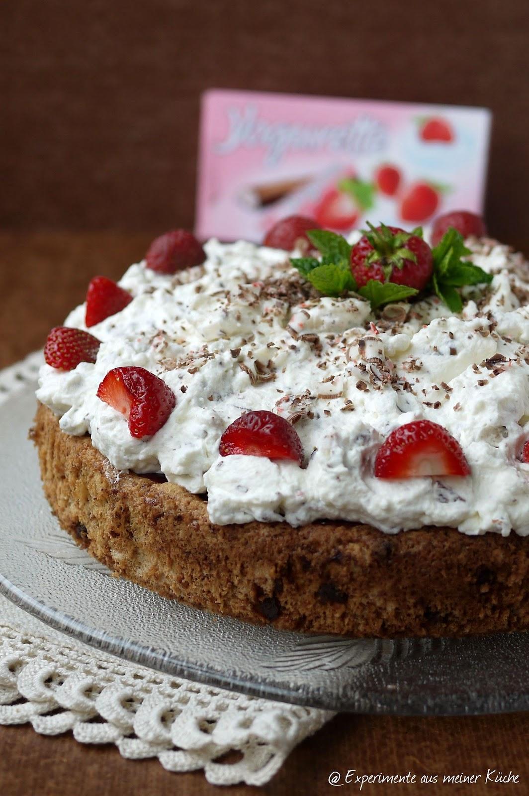 Experimente aus meiner Küche: Erdbeer-Yogurette-Torte