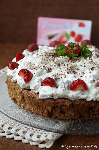 Experimente aus meiner Küche: Erdbeer-Yogurette-Torte #glutenfrei