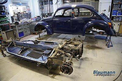 Blaumann Beetle Projekt