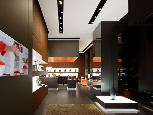 Bork's flagship store in Moscow by Ippolito Felitz Group