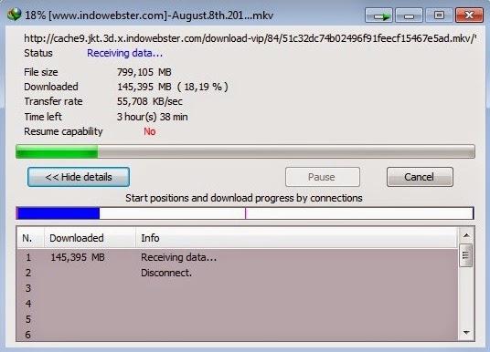Masalah Korupsi Data Pada Internet Download Manager