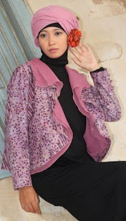 Dress Muslim Dengan Blazer