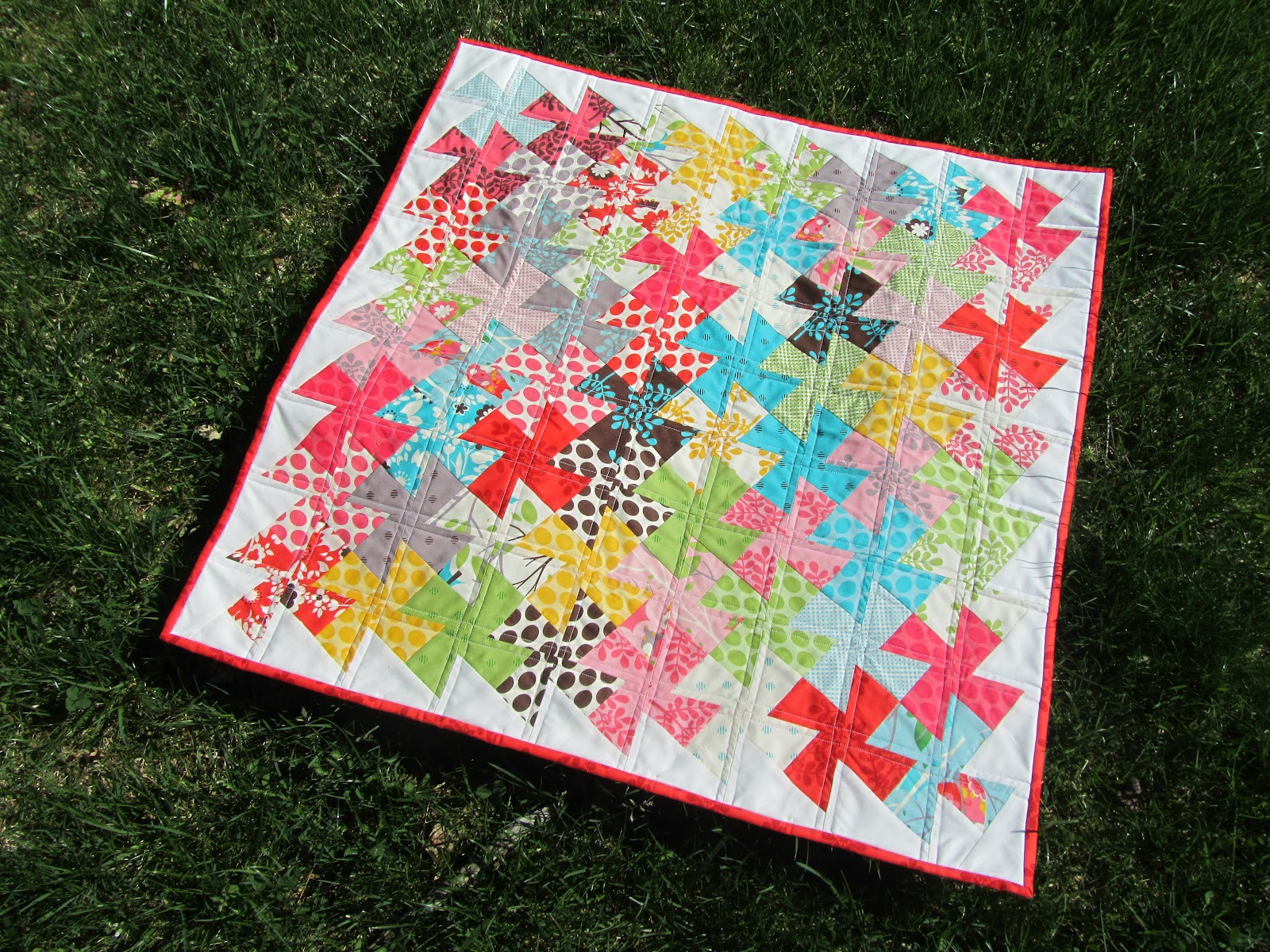 Free Twisted Pinwheel Quilt Pattern : Quilt Story: Twister Quilt from A Quilting Jewel