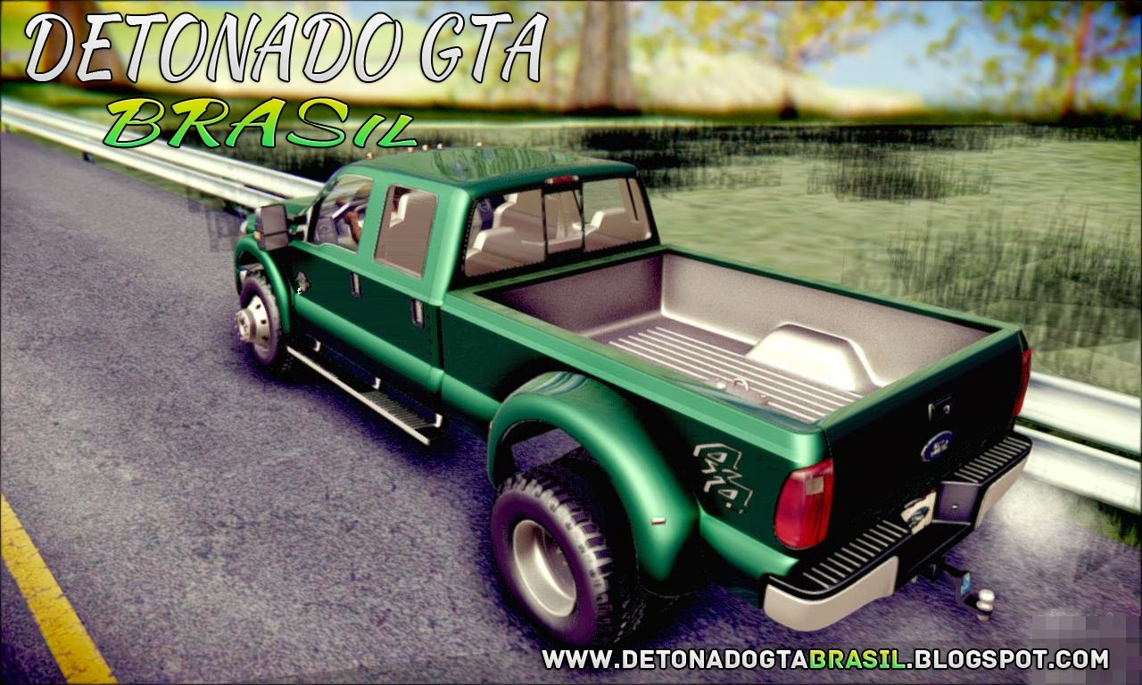 GTA SA - Ford F450 Super Duty 2013