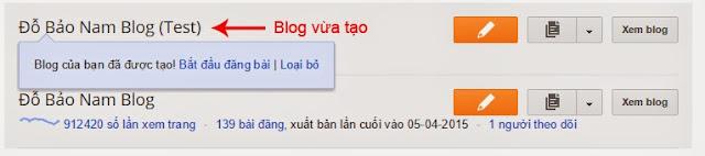 Cách tạo Blogspot Google bằng tiếng Việt