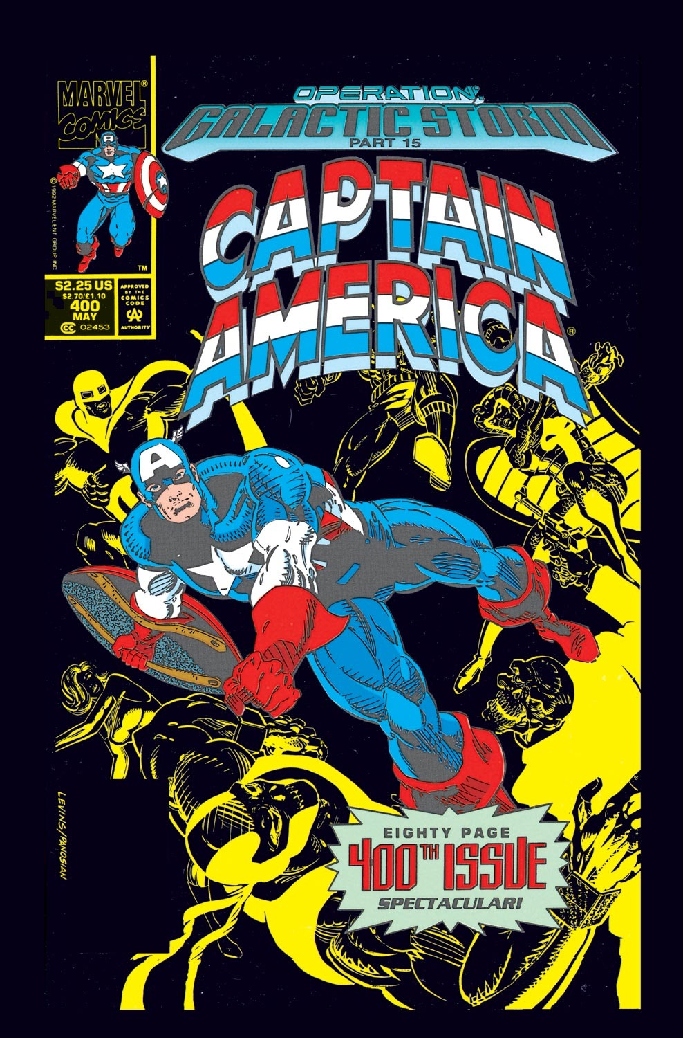 Captain America (1968) Issue #400 #345 - English 1
