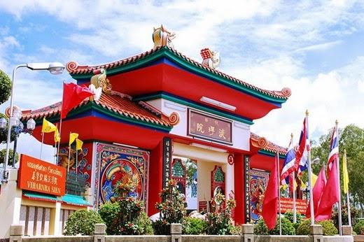 Wihan Sian multiple charitable court Viharn Sien Anek Kuson Chamber Thailand Pattaya