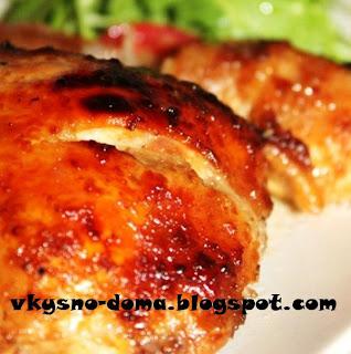 Курица в сливовом маринаде