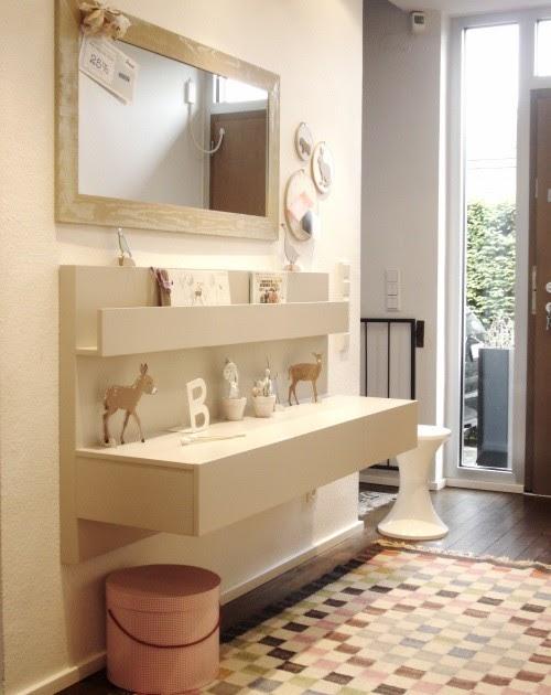 Ikea hack mesillas malm en el recibidor - Mesilla malm ikea ...