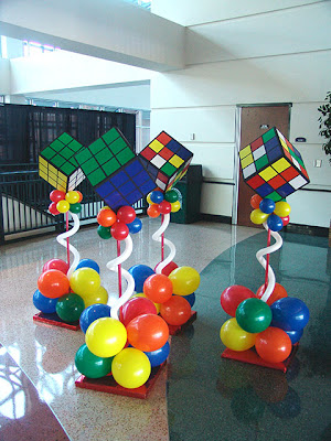 Decoraci n de fiestas con globos dise os que te for 80s theme decoration ideas