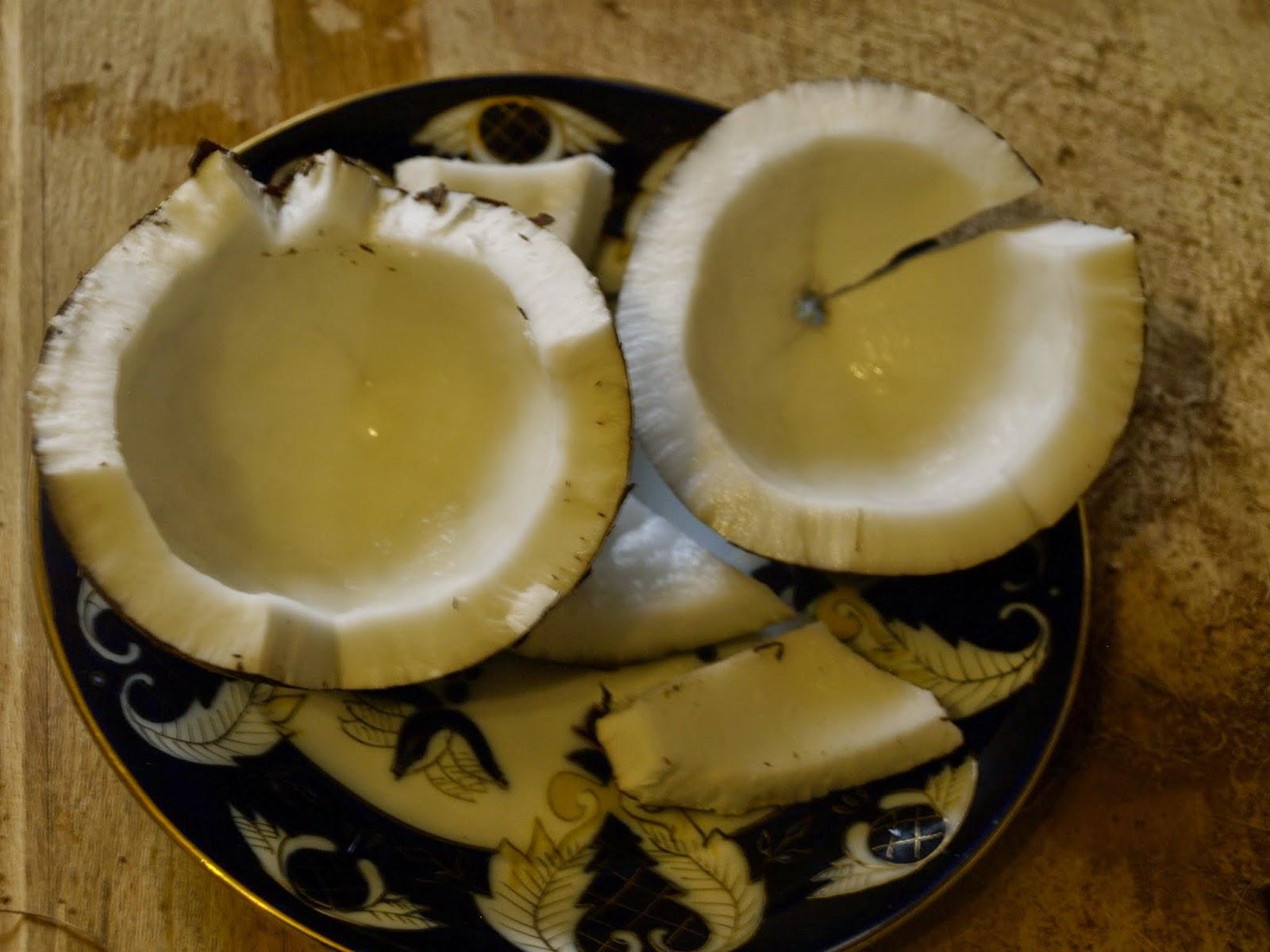 miezul nucii de cocos