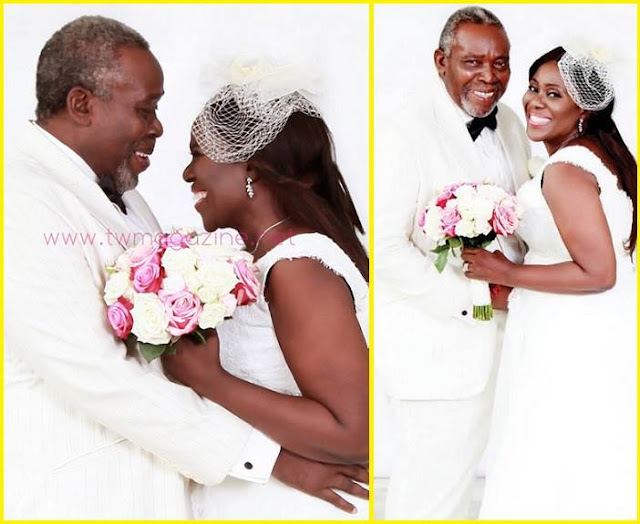 See Photos Nollywood Legends Olu Jacobs And Ajoke Silva Wedding Anniversary