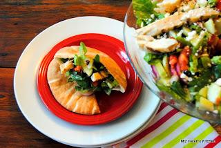 Greek Chicken Salad from Miz Helen's Country Cottage