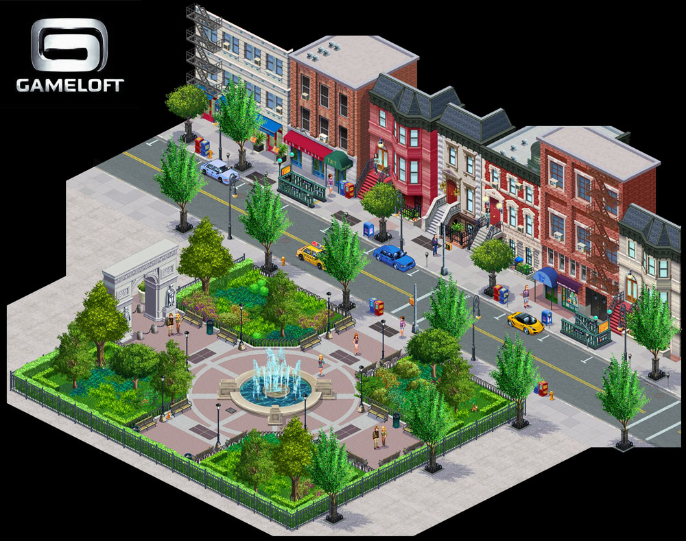 Free download java game My life in New York from Gameloft ...