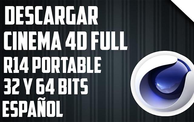 Cinema 4d Studio R14 edicion portable / win x86 y x64
