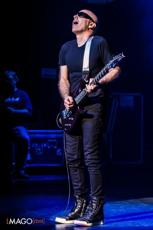 Joe Satriani a la sala Barts de Barcelona, 2-10-2015