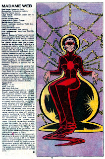 Madam Web (ficha marvel comics)
