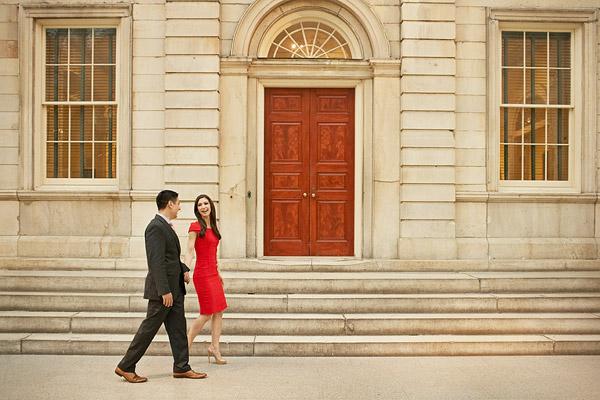 Metropolitan Museum of Art engagement pictures
