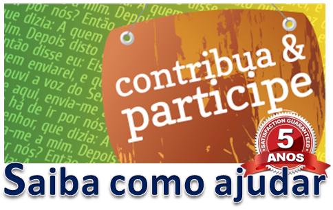 CONTRIBUA E PARTICIPE