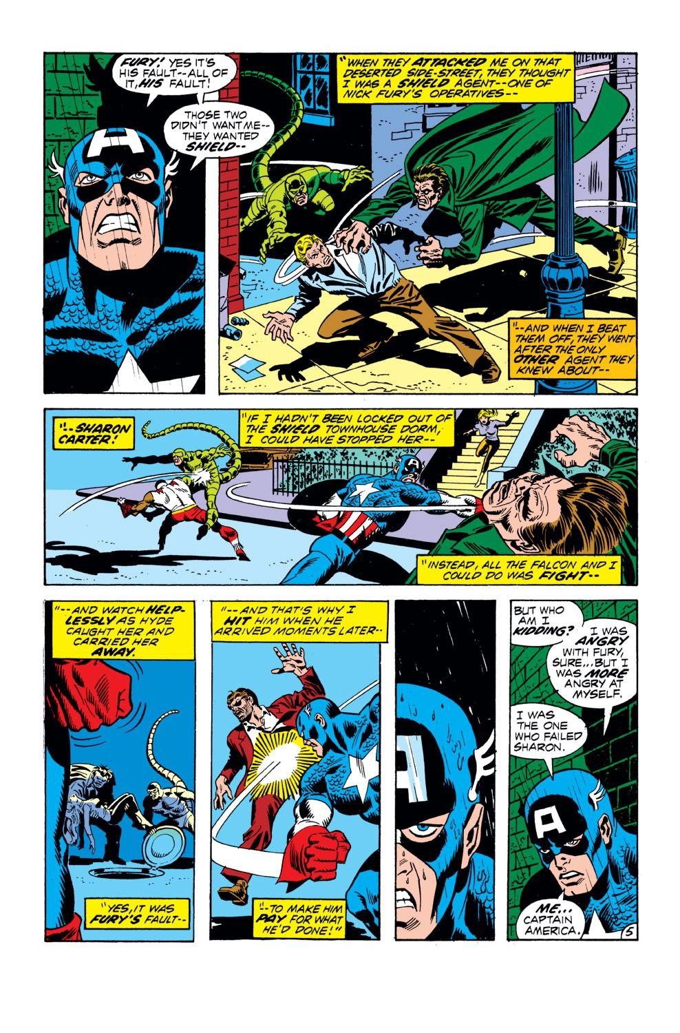 Captain America (1968) Issue #152 #66 - English 6