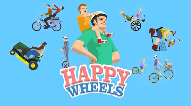 happy wheels 4 game