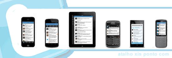 O Twitter download oficial e gratis para Smartphone, Telemovel Celular, e Tablet