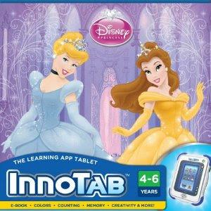 Pre-kindergarten toys - Vtech - InnoTab Software - Disney Princesses (80-230200)