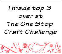The One Stop Craft Challenge