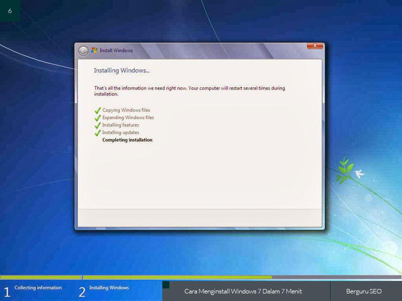 Cara Menginstall Windows 7 gambar 6