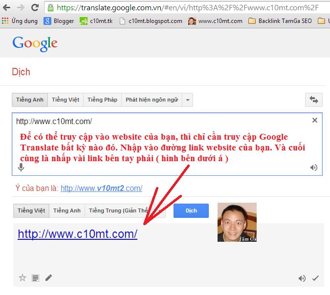truy cập vào website đã bị khóa IP
