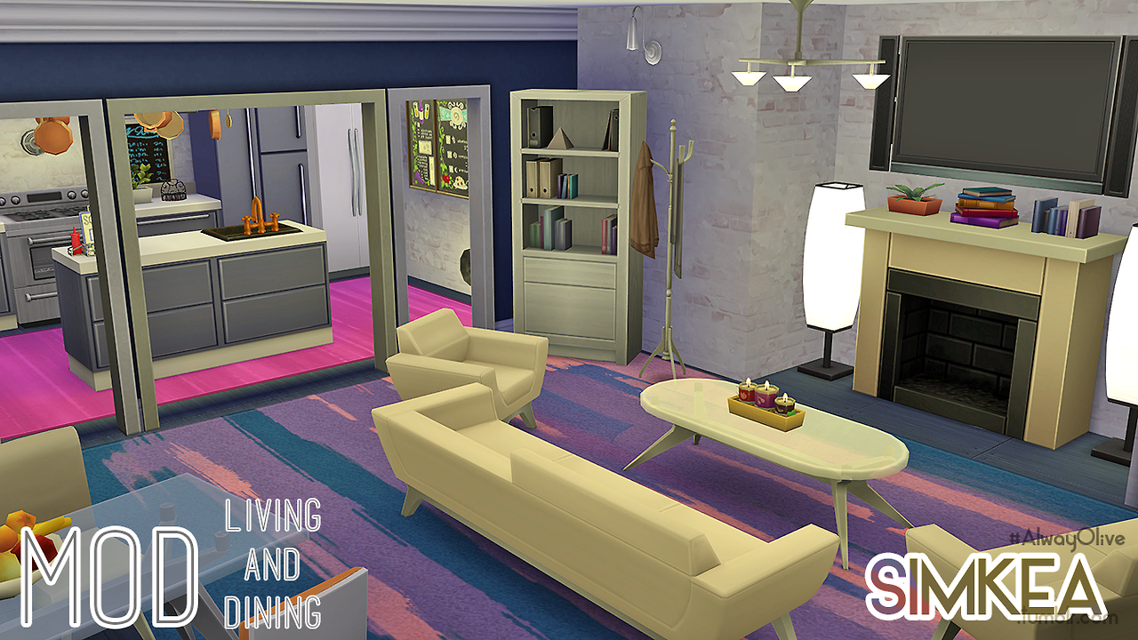 My Sims 4 Blog Rooms By Simkea